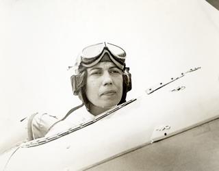 Miller in Plane