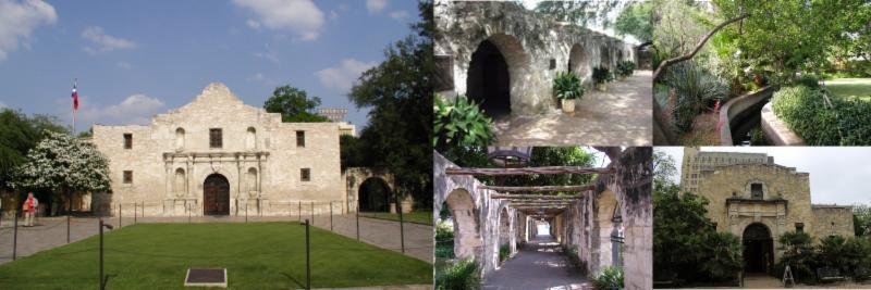 The present day Alamo Complex