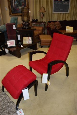 Beckett Chair And Ottoman