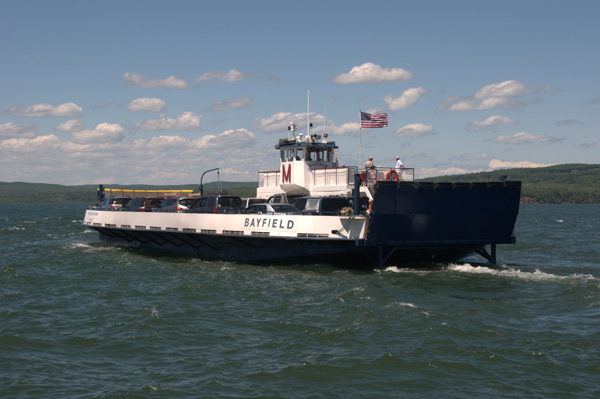 Madeline Island Ferry Line MV Bayfield.