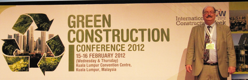 Michael Arny at Green Building Conference in Malaysia