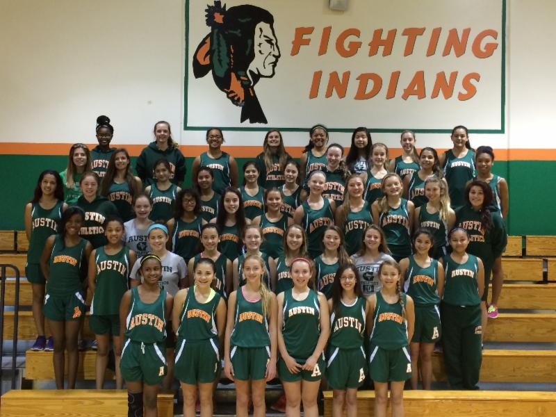 Austin Middle School track teams place in district