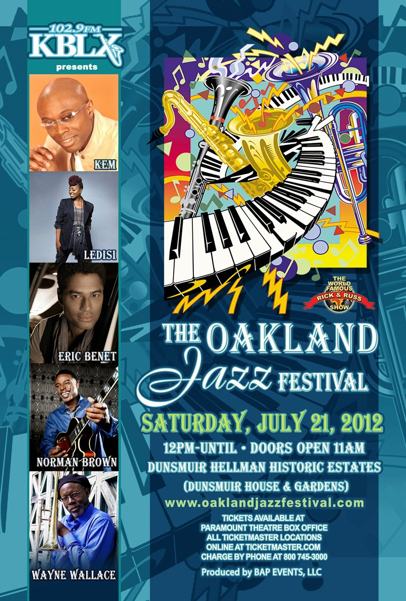 Oakland Jazz Festival Flyer