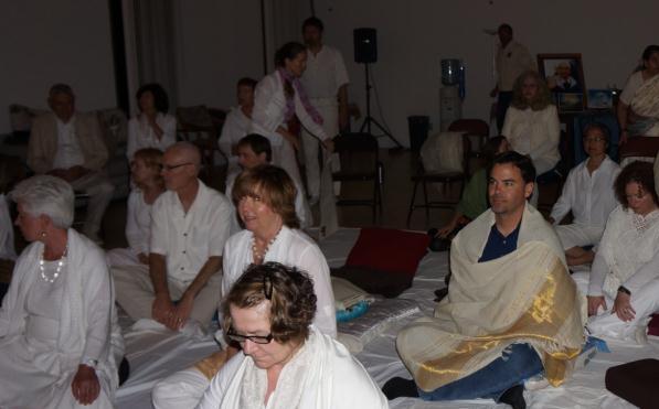 Getting ready for Wesak Meditation