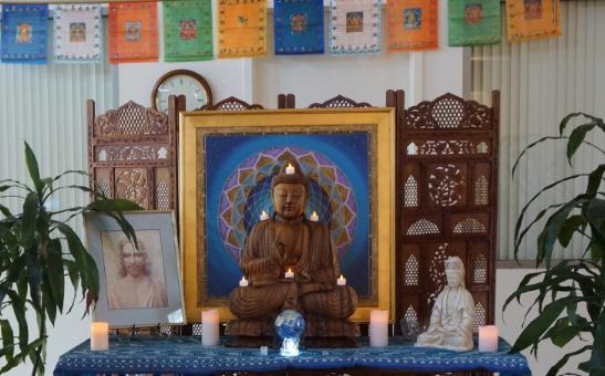 Wesak altar for PHSD