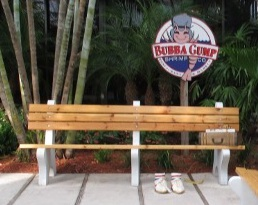 Dawn Enterprises Bubba Gump Bench