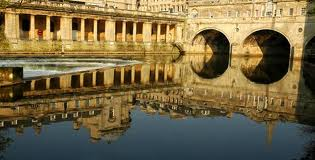 Historical town of Bath in England, UK