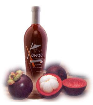 Xango bottle/fruit