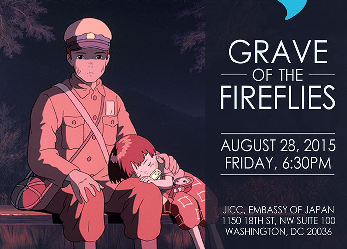 Grave of the Fireflies, August 28th at 630PM