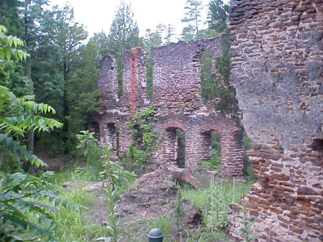 Harrisville ruins