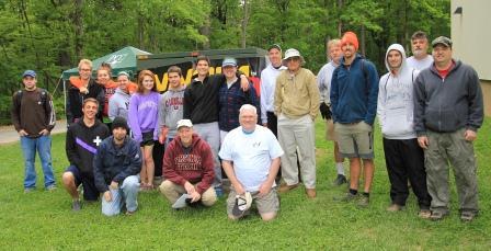 2013 Disc Golf group