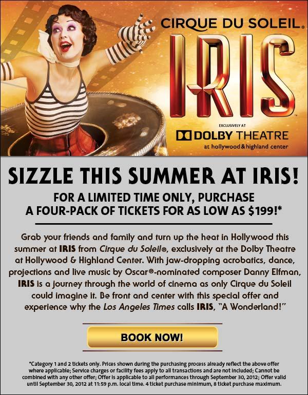 IRIS Summer Flyer