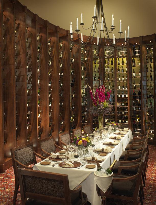 Bin 189 Private dining room at Lake Arrowhead Resort