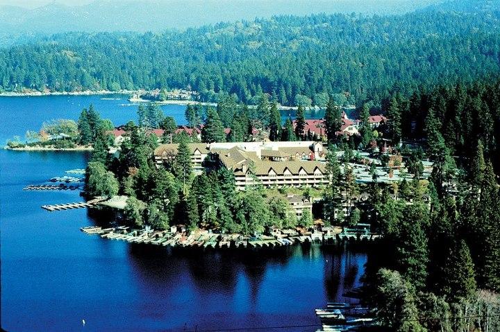 Lake Arrowhead Resort over head