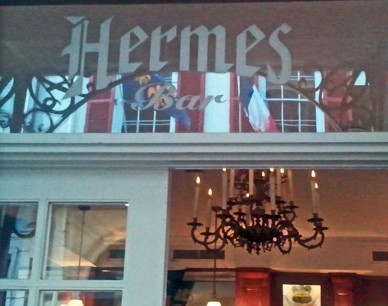 Hermes Bar at Antoine's