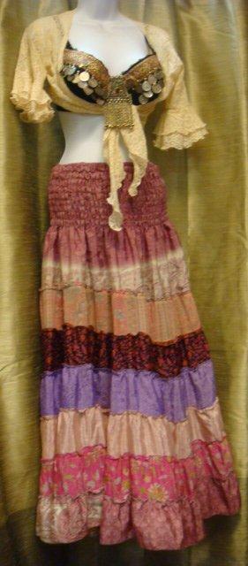 sari pink dress