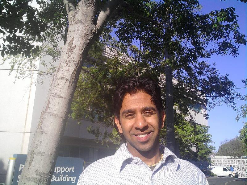 Postdoctoral Researcher Rajesh Raman