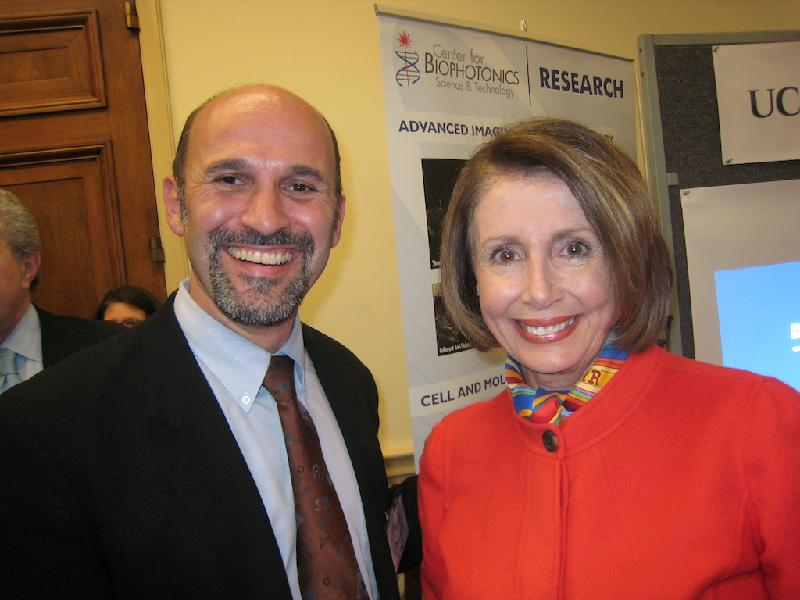Marco Molinaro with Speaker of the House Nancy Pelosi