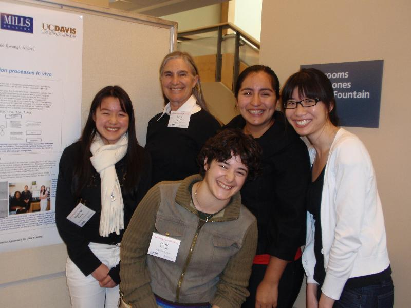 Dr. Susan Spiller and Mills College students from SSW 2010