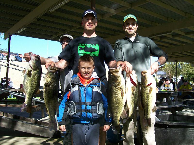 Bass Tournament April 2011 Winners