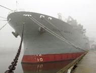 Big Ship Docked