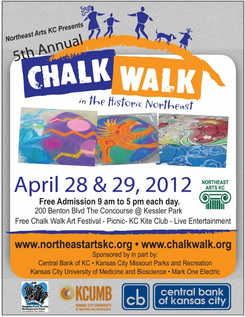 Chalk Walk Flyer 2012