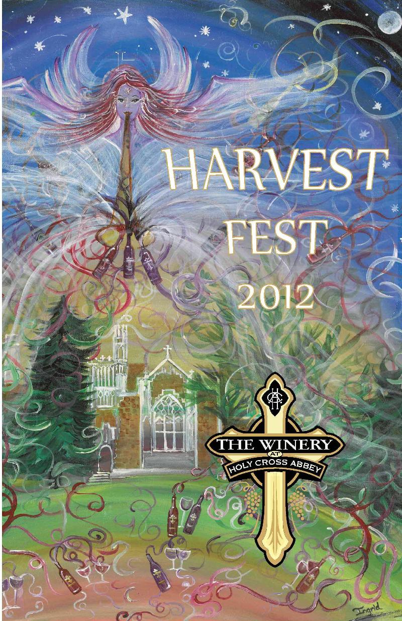 Harvest Fest 2012 poster for sale