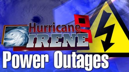 Power Outages from Hurricane Irene