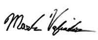 Mark Vafiades Signature