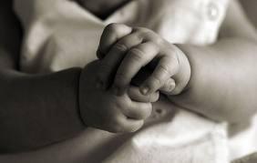 Baby sign hands