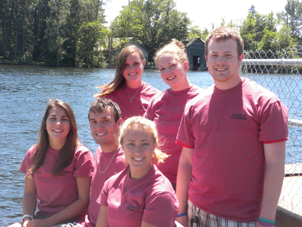 NYSG's Launch Stewards, Summer 2012