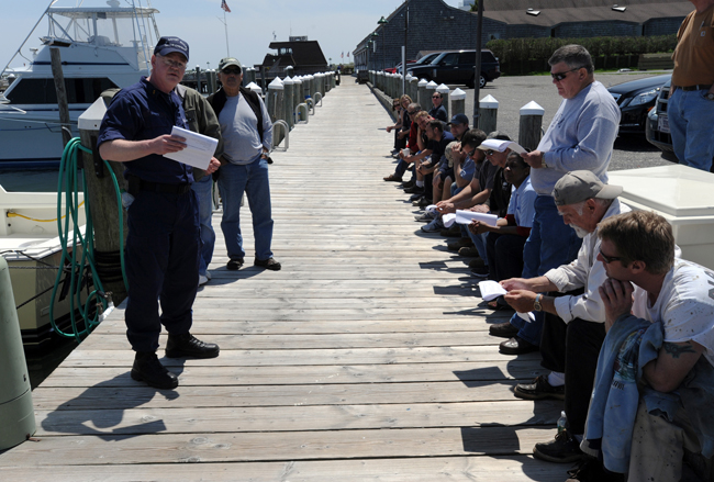 Safety At Sea Event, Montauk, May 2012