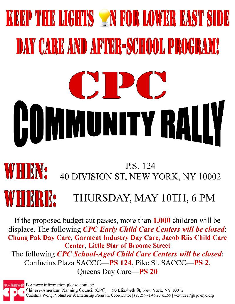 Mayors Budget Slashes Cpc Childcare Programs