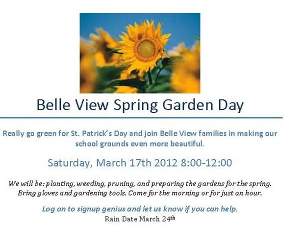 news from belle view pta