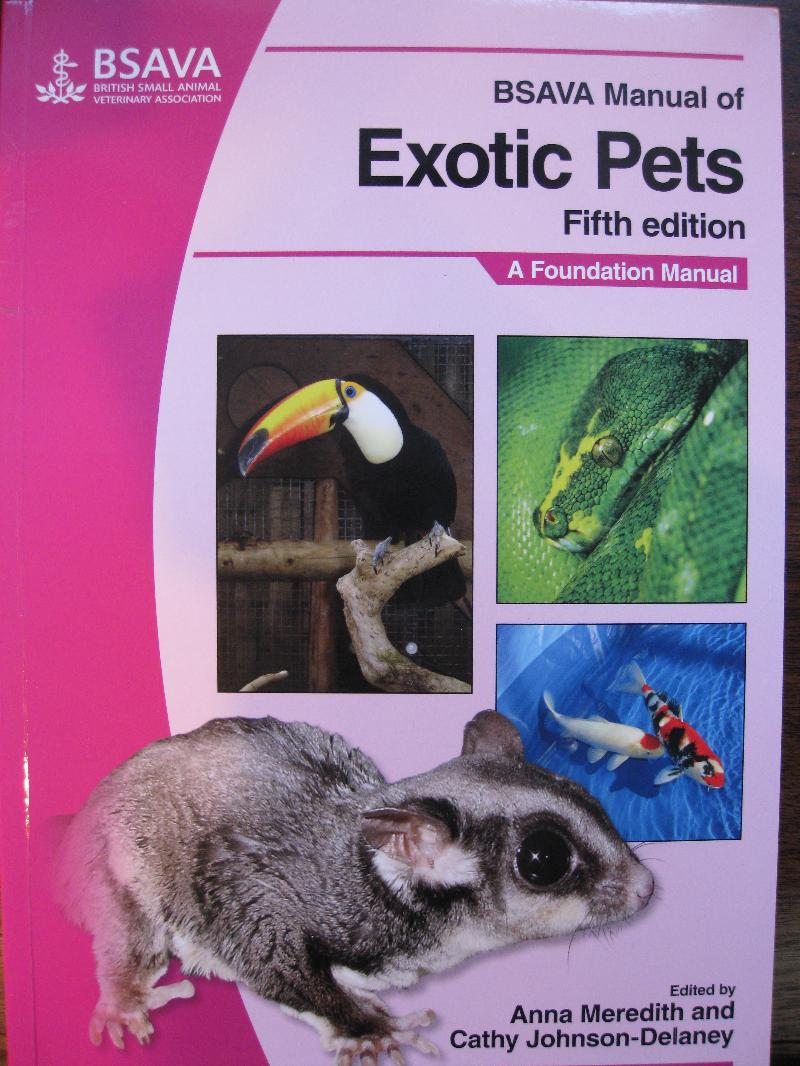 NAVTA Book cover  ExoticPets front