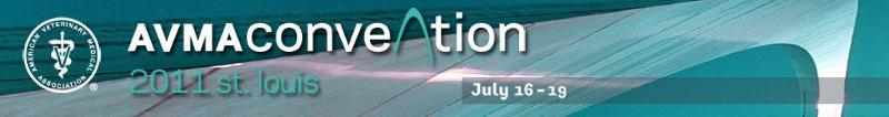 AVMA 2011 Convention Banner