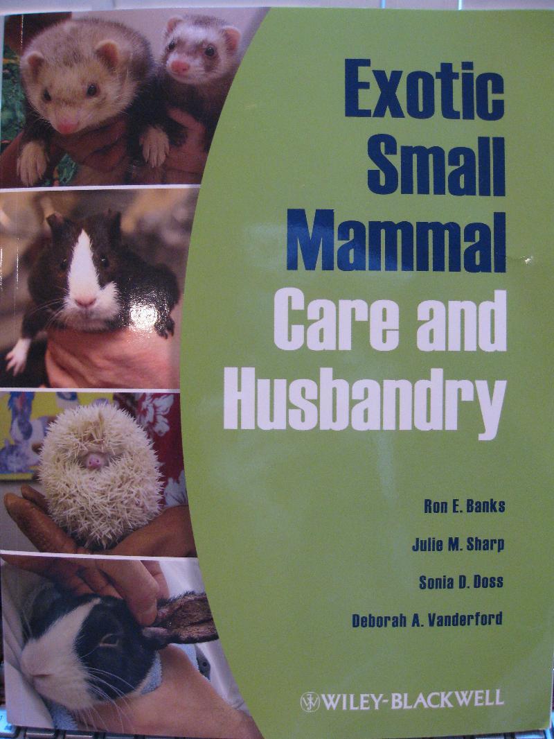 NAVTA Book Cover Exotic Small Mammal Care and Husbandry