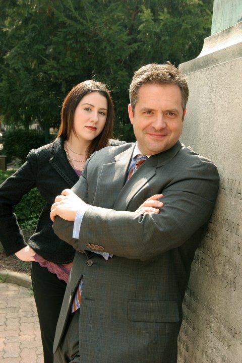 Emily Bennington and Skip Lineberg