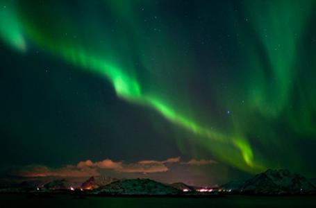 The Northern LIghts in action last winter over Northern Norway. PHOTO: John Stenersen