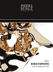 Pierre Berge Auction Catalog