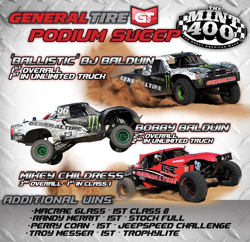 General Tire at the Mint 400