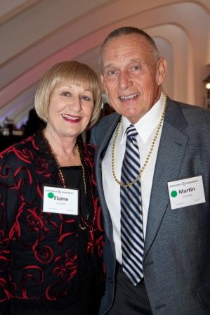 Elaine and Martin Schreiber