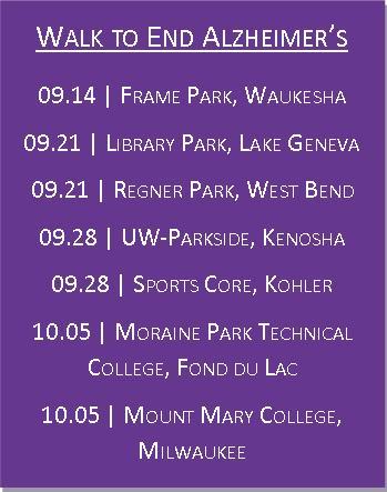 WTEA Dates