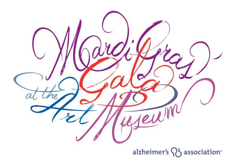 Alz Mardi Gras Gala 2012