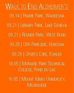 WTEA Dates 2013