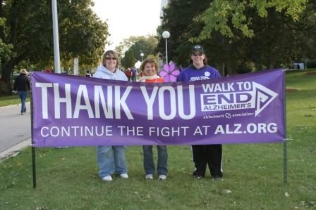 Walk Thank You Banner
