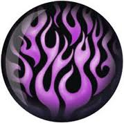Purple Bowling Ball
