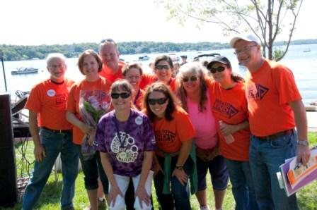 Walworth County Walk crew