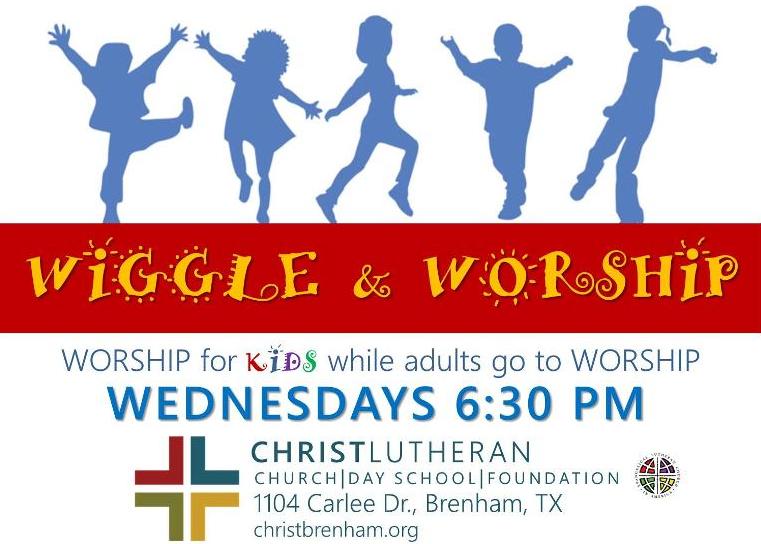 CLC Wiggle Worship Wednesday