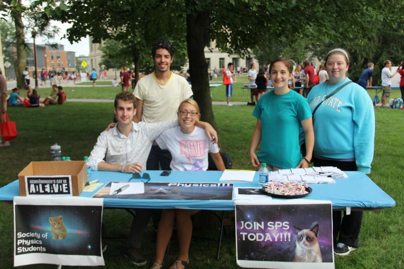 Student Organization - Society of Physics Students
